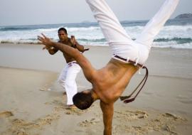 Εβδομάδα Capoeira στην Κέρκυρα