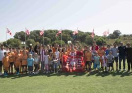Αγιασμός στη Σχολή του Ολυμπιακού στην Κέρκυρα