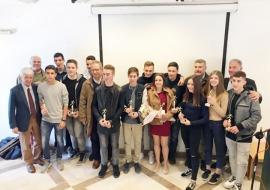 Τους «χρυσούς» αθλητές του κερκυραϊκού στίβου βράβευσε ο ΣΕΓΑΣ (photos)