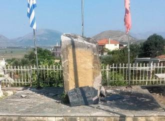 Ανατίναξαν το μνημείο του οπλαρχηγού Θύμιου Λιώλη. Οξεία η αντίδραση του ελληνικού υπΕξ