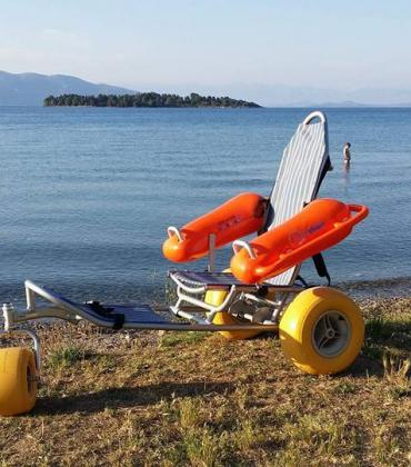 There are now 18 beaches in Corfu suitable for those with special needs