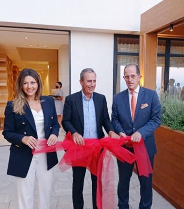 Official opening of Angsana Corfu with Deputy Minister of Tourism