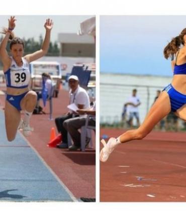 Gold Medals for young Corfu athletes Spyridoula Karydi and Panayiota Dosi