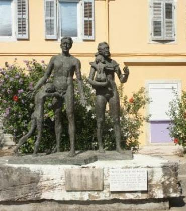 Holocaust memorial event in Corfu