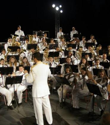 ΄Old΄ Philharmonic Society concert in Alykes Lefkimmi 6 August