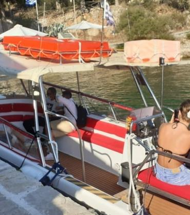 Vidos boat out of service - shuttle service by water taxi