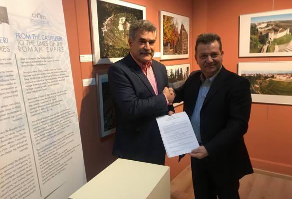Υπογραφή συνεργασίας και εγκαίνια της έκθεσης «Τα Φρούρια Ενώνουν» (βίντεο και φωτορεπορτάζ)