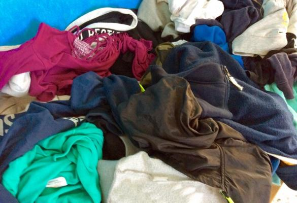 ΄All Together for Corfu΄: Recycling of clothing!