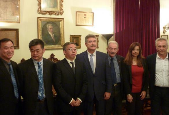 Συνάντηση σύσφιξης σχέσεων Κίνας - Κέρκυρας στο Δημαρχείο (video)
