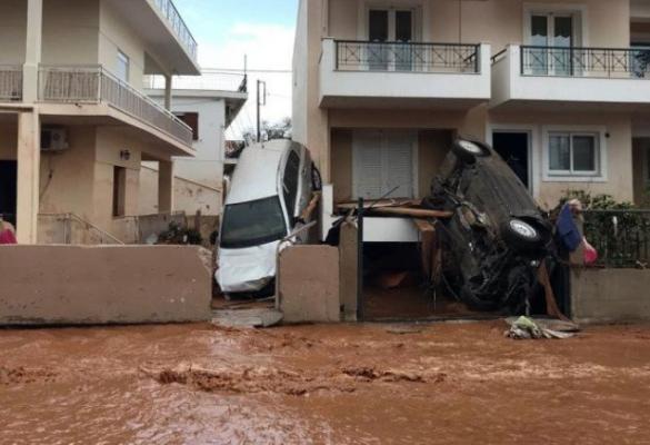 Συγκέντρωση ειδών ρουχισμού και τροφίμων για τους πληγέντες στην Αθήνα