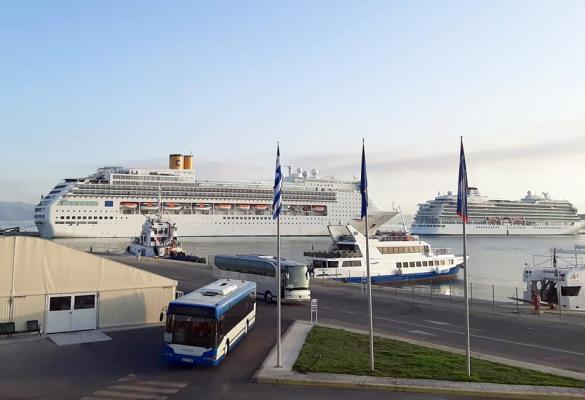 The busiest week of the year begins today with 5 cruise ships and 9,000 passengers