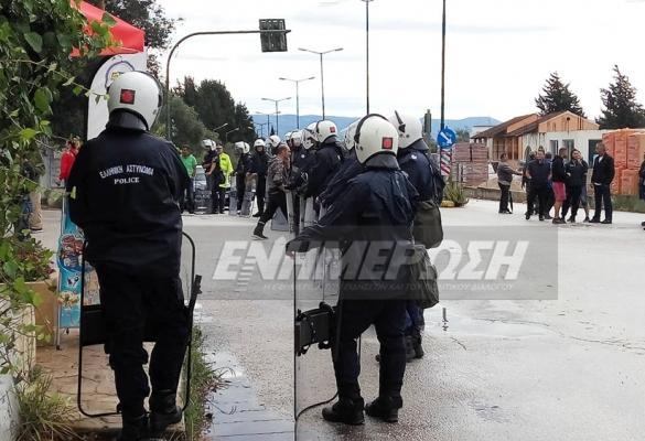 Διαμαρτύρονται (και) αστυνομικοί των Σερρών, που τους στέλνουν στην Λευκίμμη