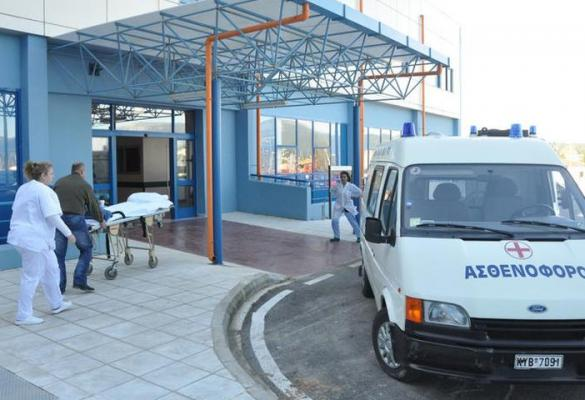 59-year-old man dies just outside hospital