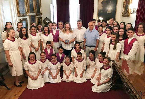 Έπαινος από τον Δήμαρχο στην Παιδική Χορωδία Κέρκυρας (video-photos)