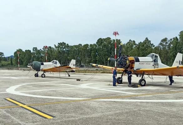 2 PZL firefighting planes have arrived in Corfu