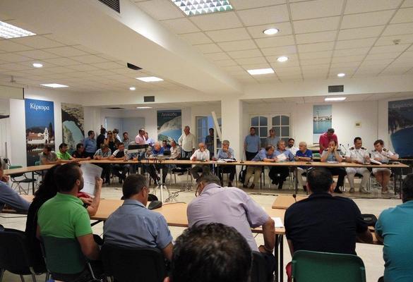 Περιφέρεια & φορείς θα ψάξουν τρόπο επανόδου στην κανονικότητα στη Νότια Κέρκυρα