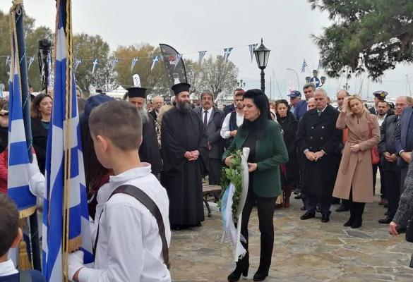 Corfu representation at anniversary celebrations for Ioannis Capodistrias on Aegina island