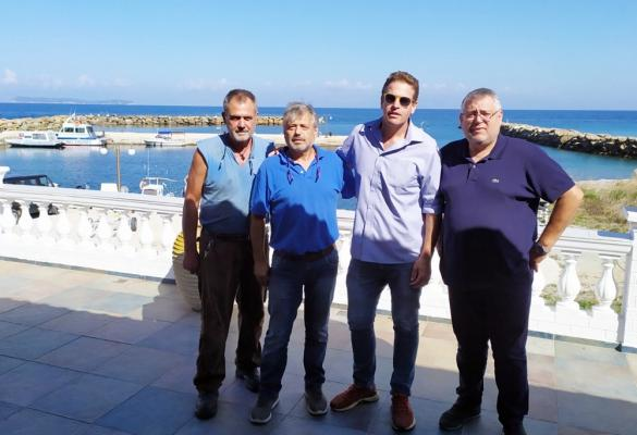Deputy Mayor for Tourism visits Mathraki