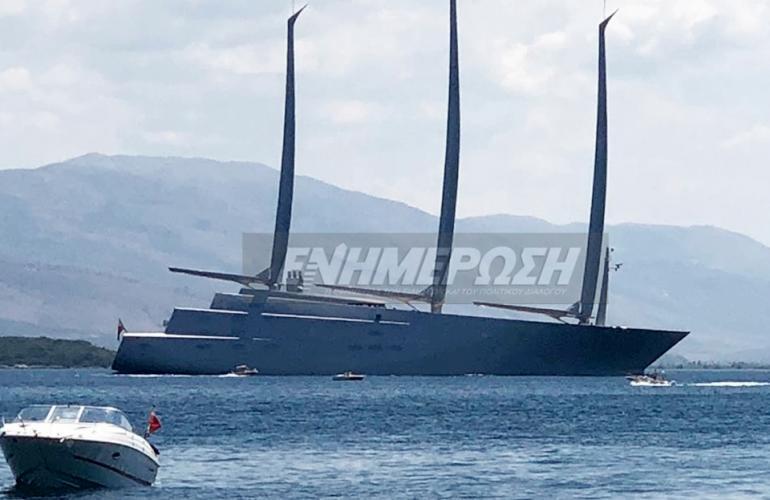 World S Largest Yacht In Corfu Enimerosi On Line